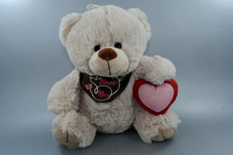 heart, love, message, teddy bear toy, text, Valentine's day, toy, cute, gift, funny