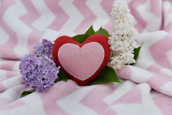 affection, beautiful flowers, heart, lilac, love, marriage, romance, bouquet, pink, flowers