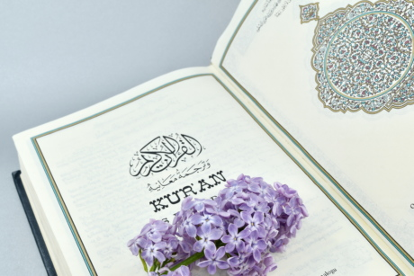 arabesque, arabic, book, flower, heritage, holly, Islam, lilac, literacy, paper