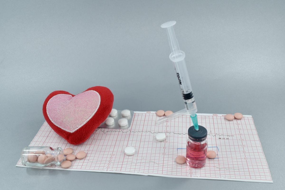 blood pressure, bloodstream, cardiology, coronary disease, drugs, heart attack, heartbeat, vaccination, syringe, medicine