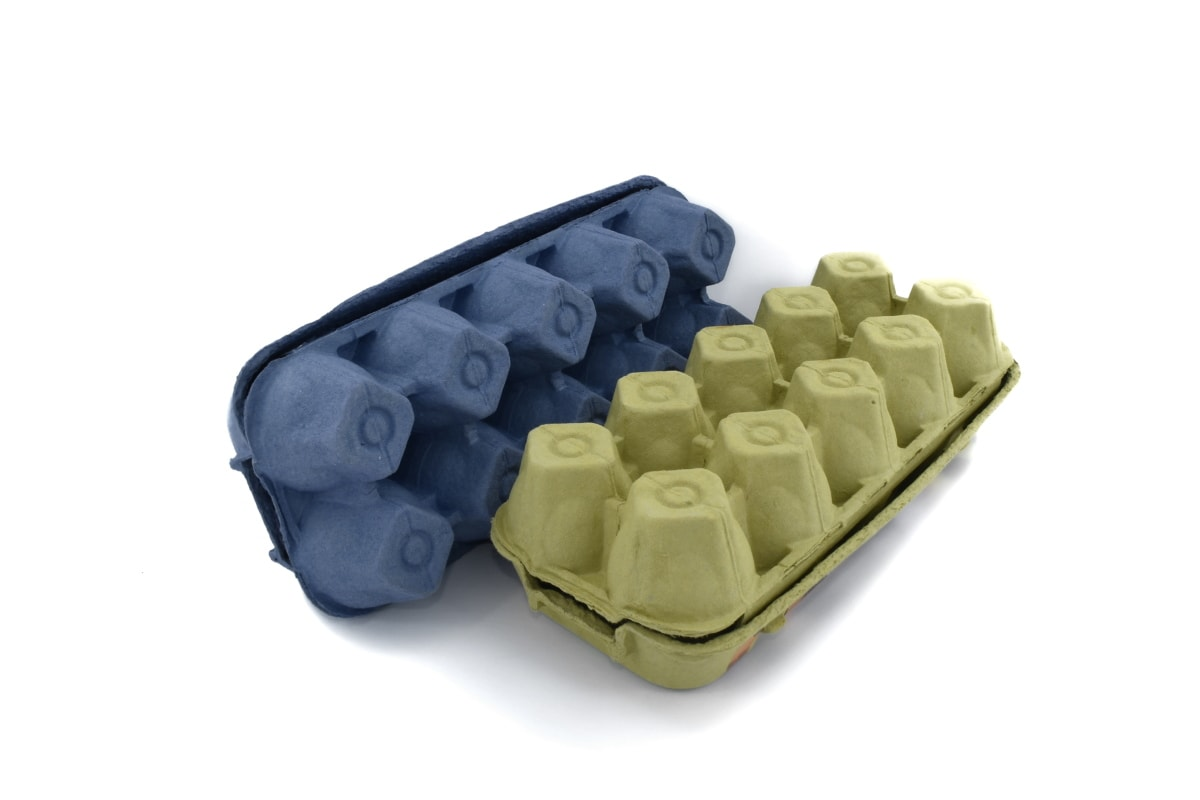 blue, cardboard, carton, egg box, package, product, products, equipment, industry, technology