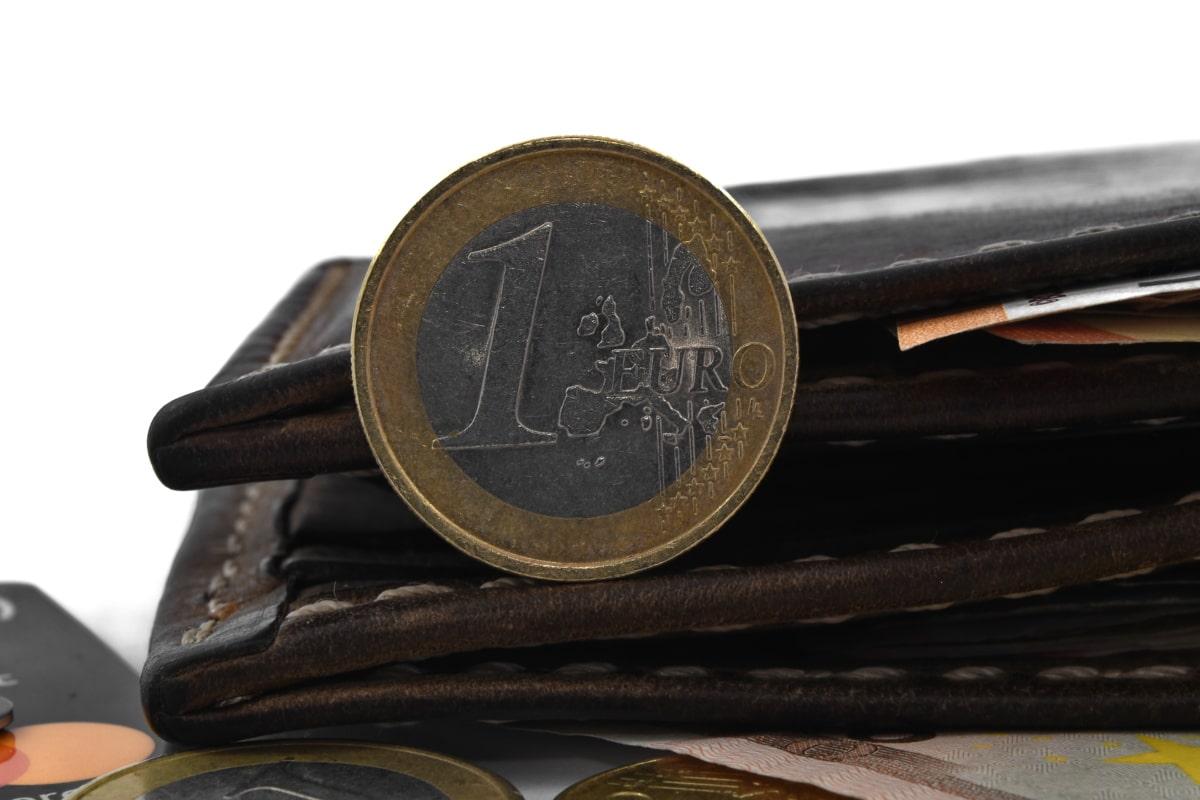 mynt, detaljer, euro, Europeiske, skinn, virksomhet, penger, valuta, gamle, besparelser