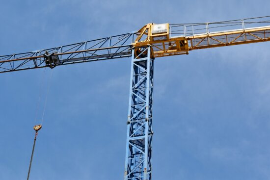 height, construction, industry, tower, steel, device, crane, industrial, high, heavy