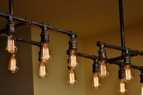 chandelier, electricity, interior, interior decoration, interior design, light bulb, antique, brass, justice, hanging