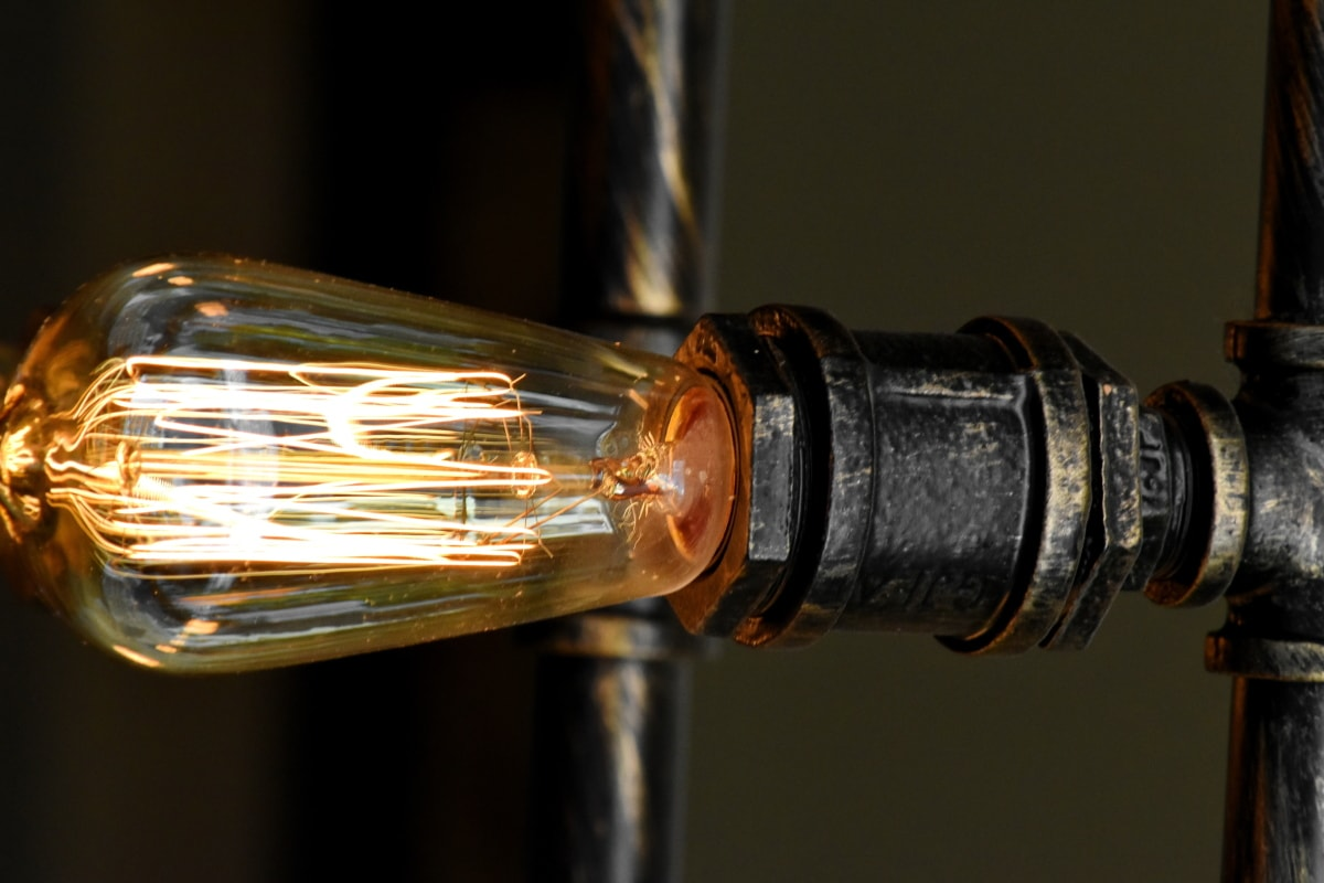 design, electricity, light brown, light bulb, pipe, piping, lamp, energy, old, light