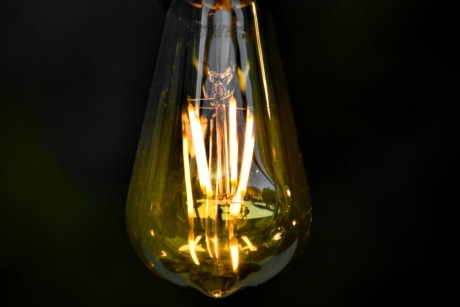 close-up, electricity, light brown, light bulb, shining, transparent, wire, drink, glass, lamp