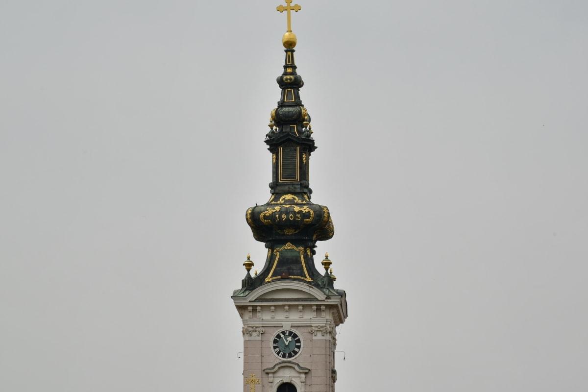 πύργος εκκλησιών, Χρυσή λάμψη, κληρονομιά, Ορθόδοξη, αρχιτεκτονική, Πύργος, κτίριο, Εκκλησία, τέχνη, παλιά