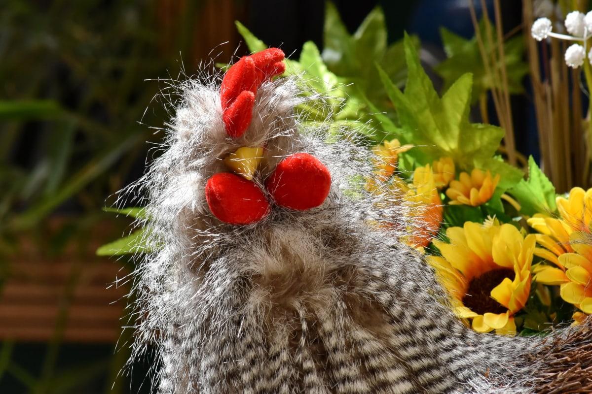 művészet, madár, kézműves, kézzel készített, Dísz, kakas, Csendélet, virág, növény, dekoráció