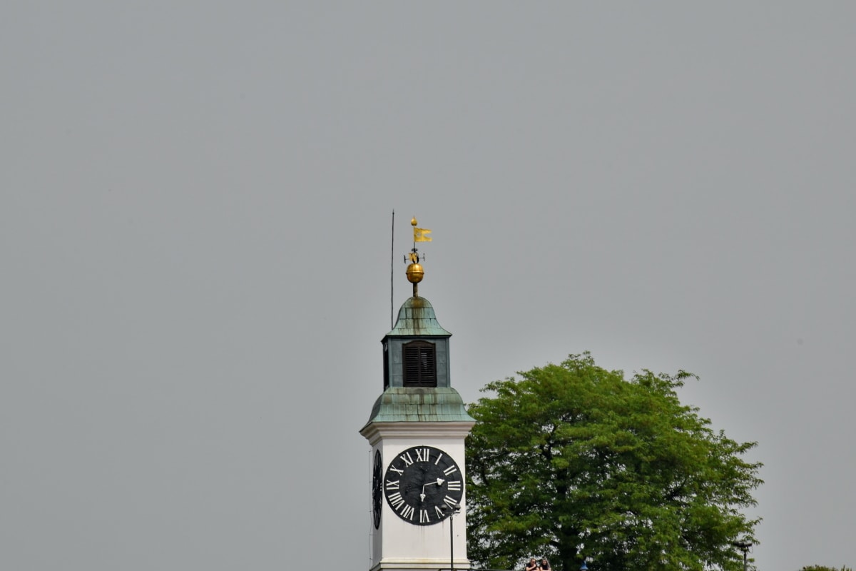 clock, east northeast, Serbia, tourist attraction, tower, religion, architecture, building, old, outdoors