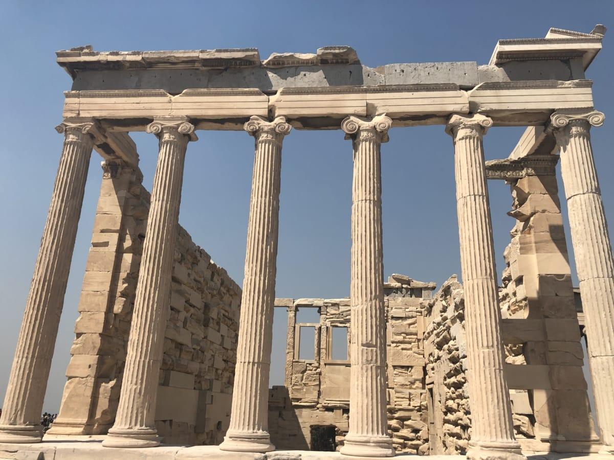 archéologie, style architectural, Grèce, Temple, attraction touristique, architecture, colonne, statue de, point de repère, Création de