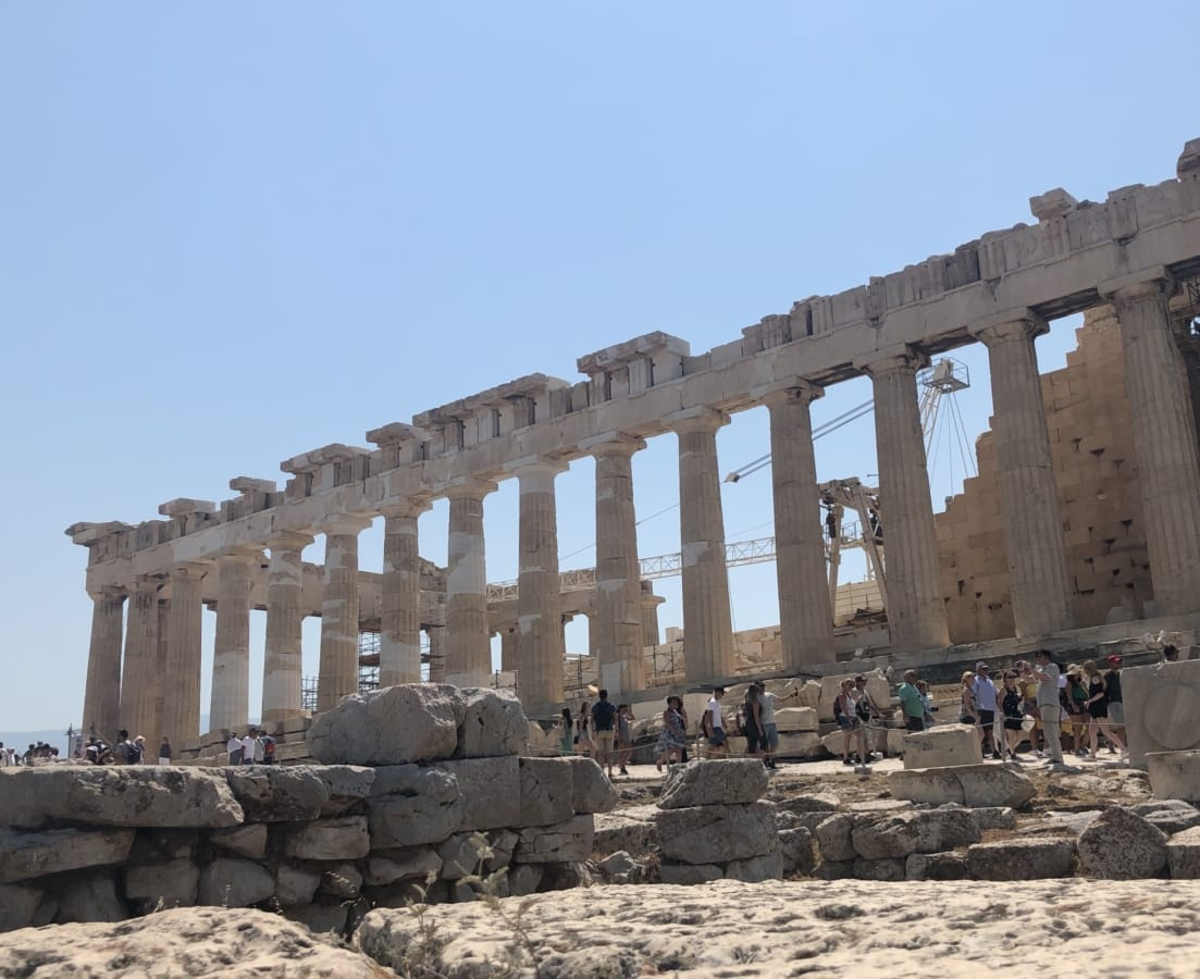 constitution, construction worker, greece, medieval, tourism, tourist attraction, ancient, archaeology, architecture, temple
