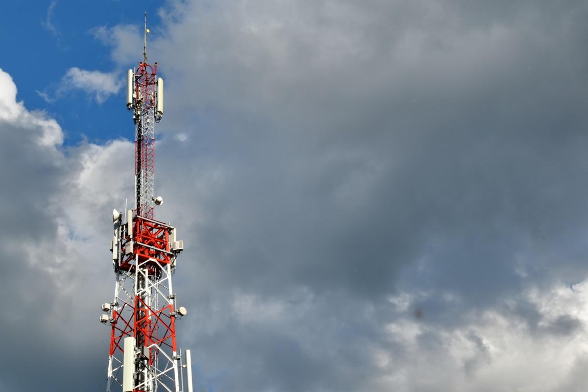 antenna, high, radio antenna, radio station, telecommunication, wireless, amplifier, tower, equipment, steel