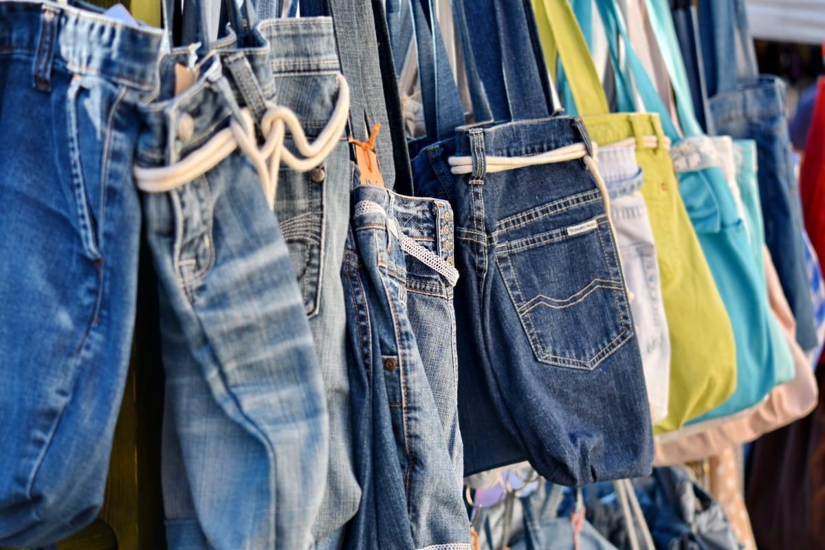Jeans, denim, vêtements, vêtement, Pantalon, poche, couvrant, Jeans/Pantalons, mode, textile