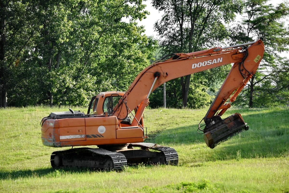 bulldozer, excavation, excavator, shovel, vehicles, construction, equipment, machinery, industry, device