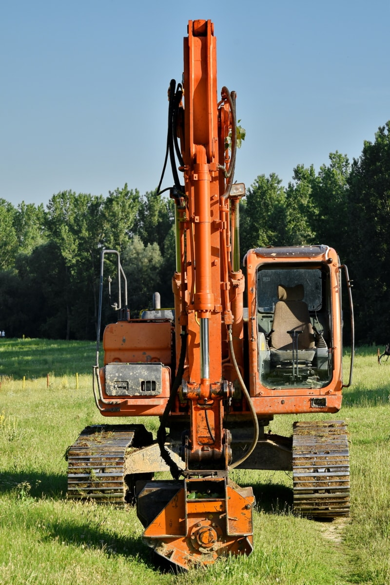 bulldozer, excavation, excavator, loader, machinery, device, construction, industrial, industry, vehicle