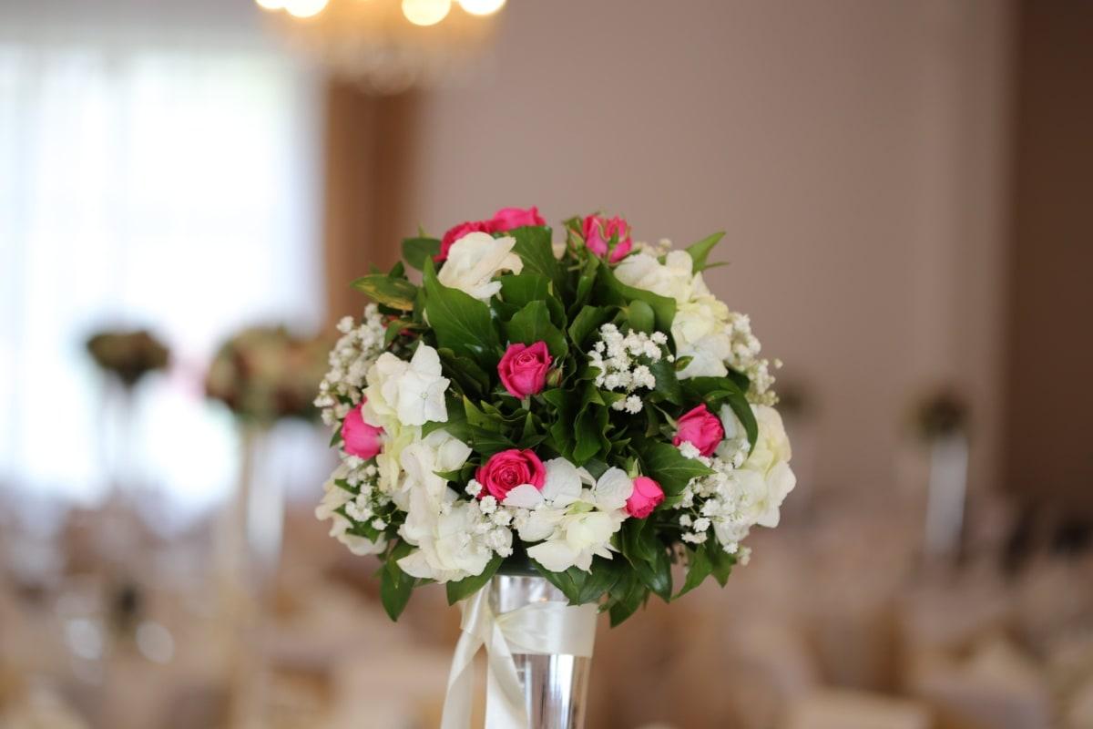 ceremony, interior decoration, interior design, room, still life, vase, decoration, arrangement, flowers, bouquet