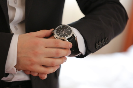analog clock, businessman, clock, elegance, elegant, hands, suit, wristwatch, hand, woman