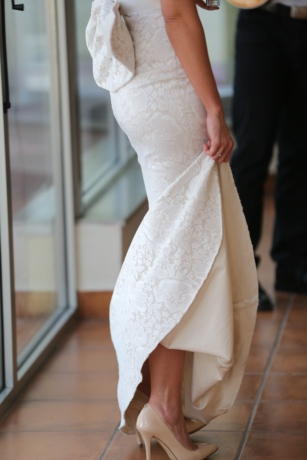 bride, dress, elegance, glamour, skirt, wedding, window, fashion, woman, indoors