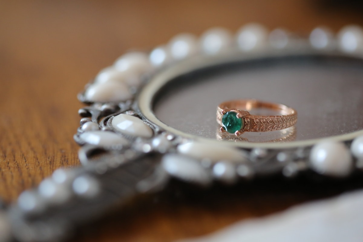 briljant, diamant, luxe, spiegel, reflectie, trouwring, ring, juweel, sieraden, mode