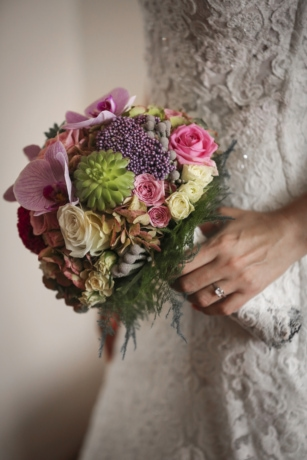 bouquet, decoration, dress, elegance, hand, marriage, wedding, wedding ring, wife, arrangement