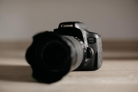 borrosas, enfoque, abertura, negro, sala de, dispositivo, digital, equipamiento, la película, lente