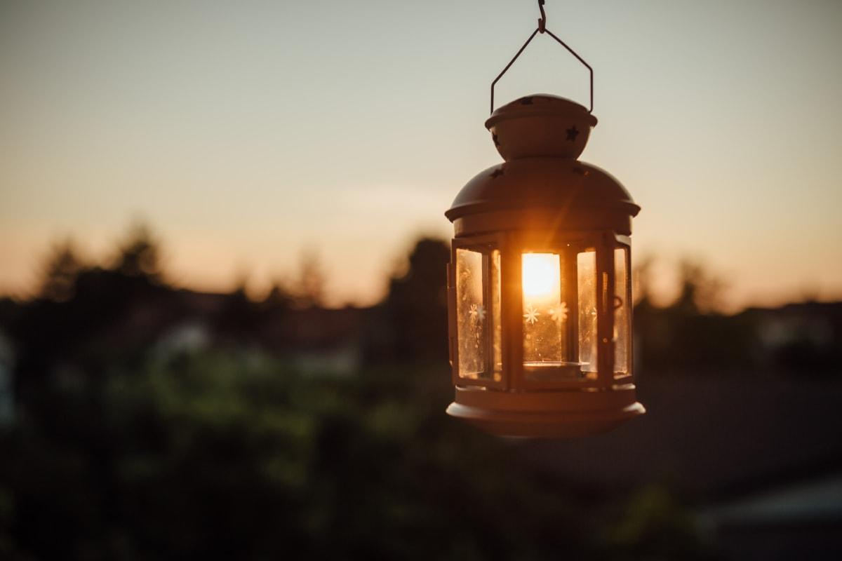 suspendu, lampe, lumière du soleil, taches solaires, fenetres, unité, architecture, vieux, Création de, lumière