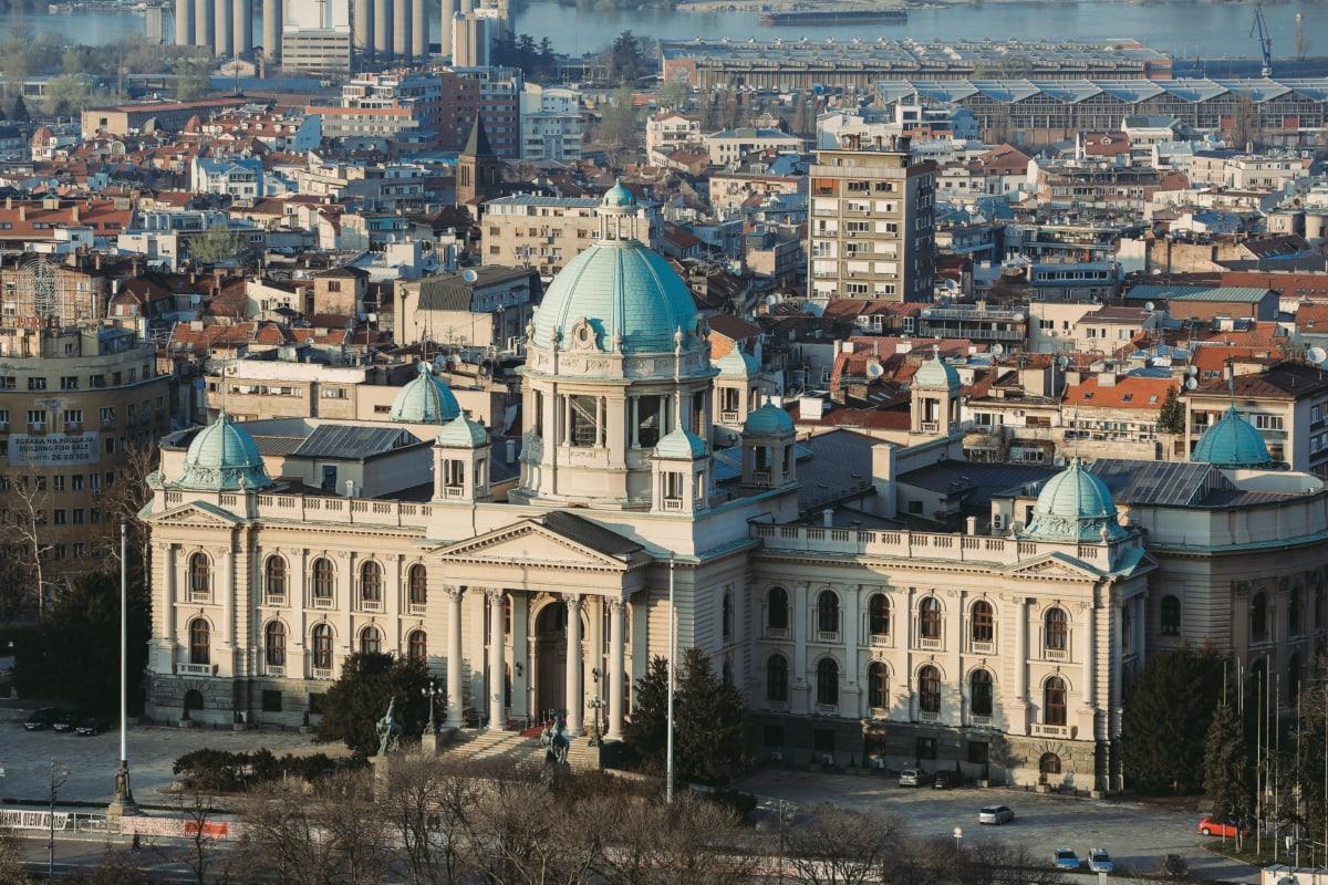 здания, город, ратуша, городской пейзаж, демократия, Демократическая Республика, Демонстрация, Парламент, построение, резиденция