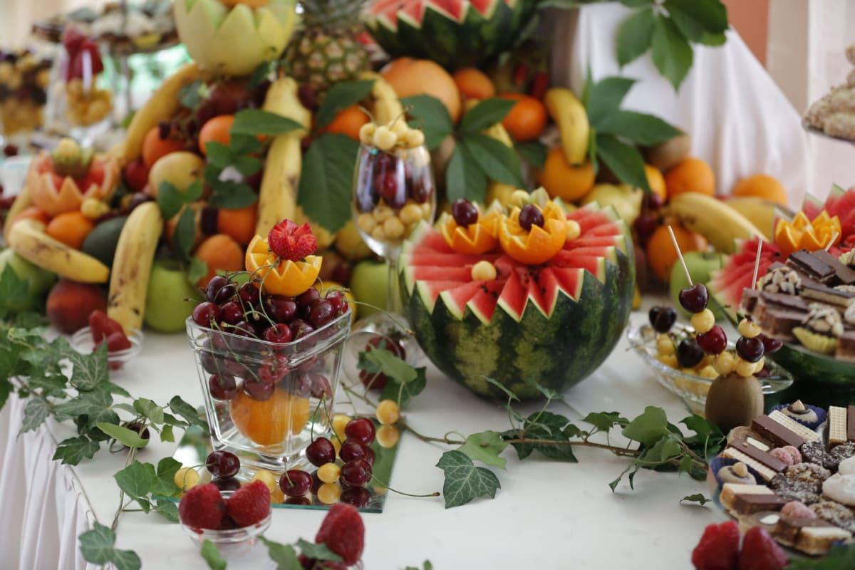 쿠키, 이국적인, 과일, 열 대, 배열, 음식, 건강 한, 신선한, 다이어트, 비타민