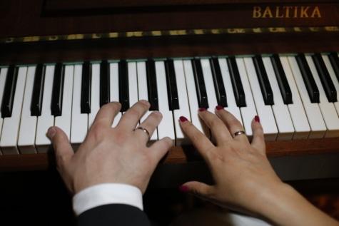 armonía, instrumento, melodía, música, músico, pianista, piso, canción, sonido, sintetizador