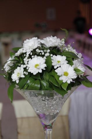 ช่อดอกไม้, ตกแต่ง, แก้ว, แจกัน, ดอกไม้, ดอกไม้, จัดเรียง, โรงงาน, ธรรมชาติ, ใบไม้
