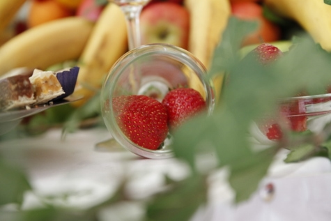 ผลไม้, สตรอเบอร์รี่, ธรรมชาติ, อาหาร, ใบไม้, หวาน, ดอกไม้, ชีวิตยังคง, เบอร์รี่, อาหารเช้า