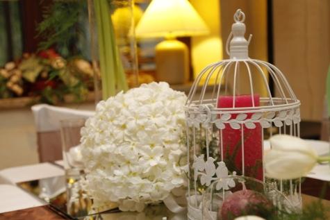 Blumenstrauß, Käfig, Kerze, Eleganz, Lampe, Luxus, romantische, Interieur-design, Blume, Hochzeit