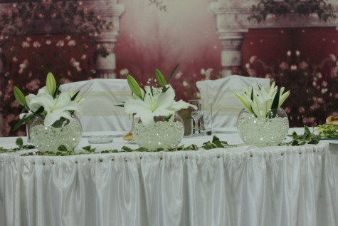 interiør, interiør, blomst, møbler, resepsjonen, steg, dekorasjon, elegante, feiring, interiørdesign