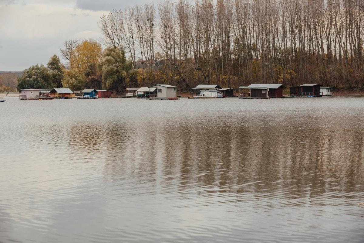 au bord du lac, Parc national, zone de villégiature, l'été, paysage, eau, rivière, bassin, Lac, rive