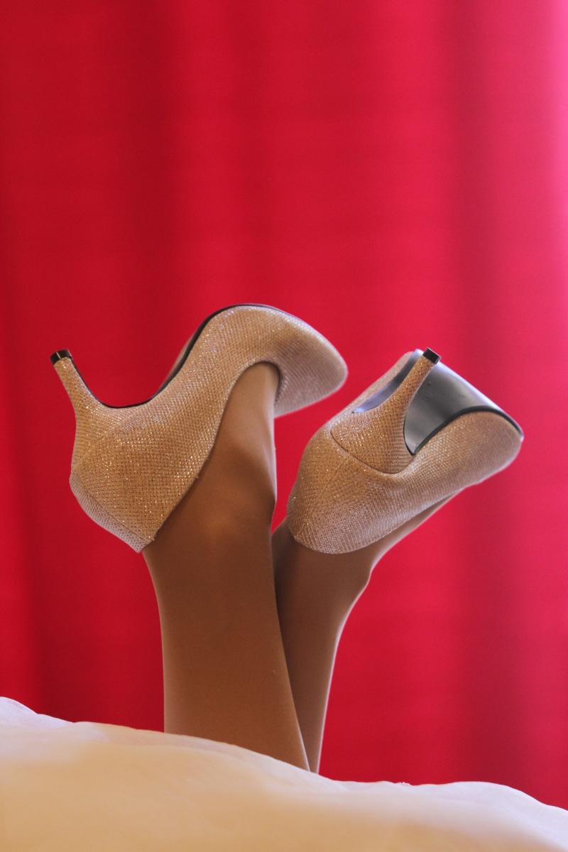 mode, charme, talons hauts, jambes, sandale, peau, style, vertical, chaussures, vêtements