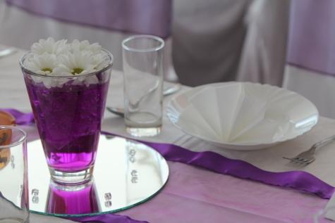 stravování, jídelní kout, váza, luxusní, elegantní, uvnitř, sklo, svatba, příbory, stolní nádobí