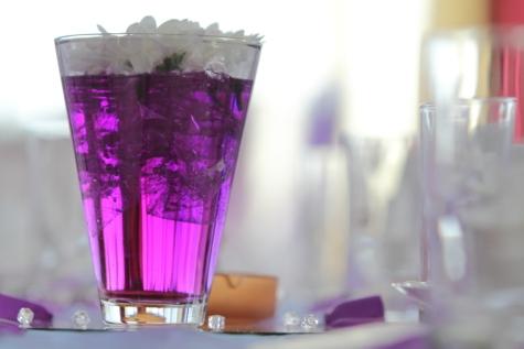 elegantní, květiny, kapalina, růžovo, purpurově, váza, sklo, strana, šťáva, Noční život