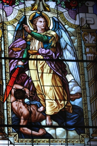 angel, art, christianity, religious, saint, stained glass, window, framework, church, religion