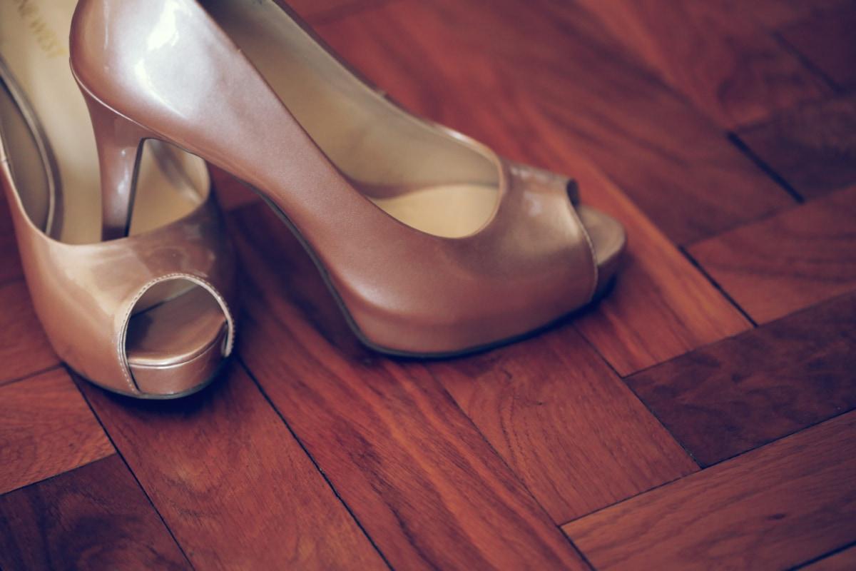Mode, Glanz, Hartholz, Fersen, Parkett, Sandale, Schuhe, Fuß, Schuh, Schuhe