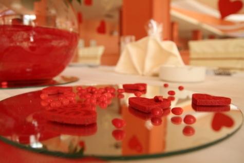 oslava, láska, strana, romantický, den svatého Valentýna, uvnitř, léčba, zdraví, svatba, tradiční