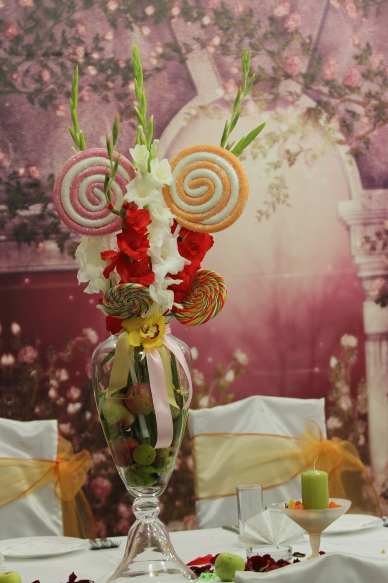 bouquet, wedding, elegant, decoration, arrangement, vase, romance, love, flower, leaf