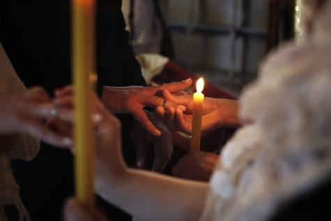 candlelight, candles, ceremony, christianity, church, flame, religion, spirituality, wedding, wedding ring