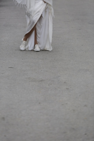 dress, leisure, lifestyle, sneakers, wedding, bride, love, leg, people, happy