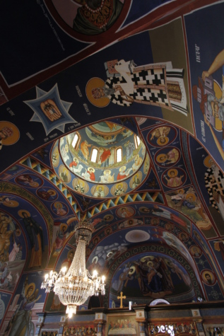 art, ceiling, christianity, famous, fine arts, orthodox, dome, architecture, cathedral, window