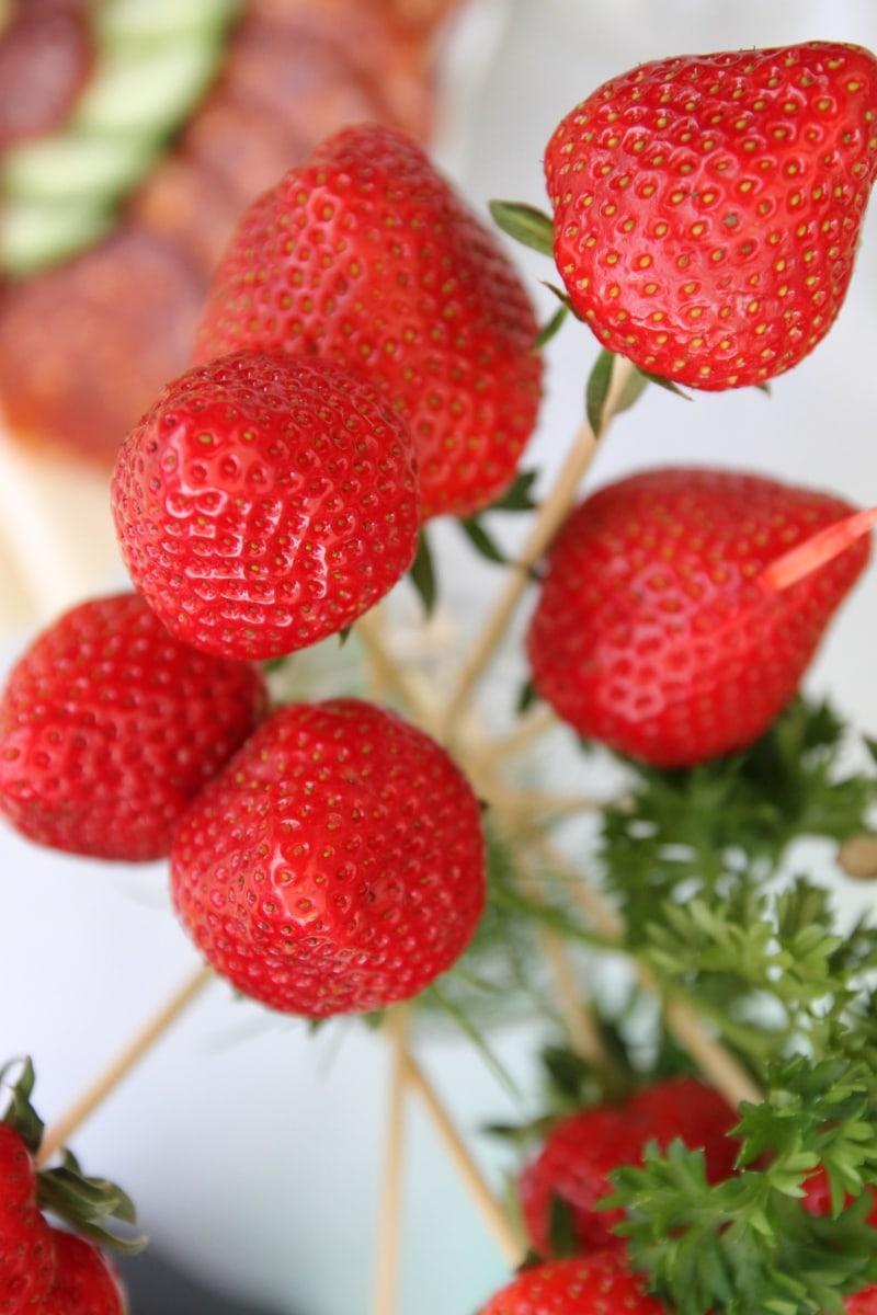 delicioase, dietetice, elegant, gustare, bastoane, gustoase, fructe, căpşuni, capsuni, sănătate