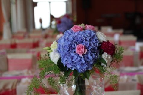 bouquet, ceremony, dining area, interior, interior decoration, interior design, lunchroom, room, vase, flowers
