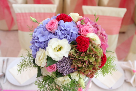 blagovaonica, pas, vjenčanje, aranžman, dekoracija, romansa, ljubav, cvijet, buket, priroda