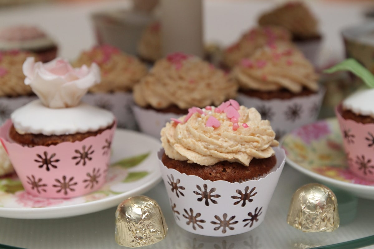 banquet, biscuit, cupcake, homemade, party, cup, cake, dessert, sweet, food