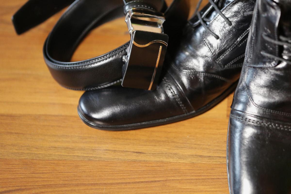 ceinture, noir, décontractée, élégance, mode, en cuir, luxe, chaussures, style, chaussure