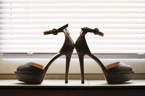 keanggunan, mode, alas kaki, tumit, cahaya, sandal, bayangan, Sepatu, siluet, jendela